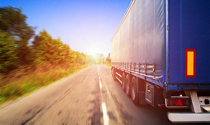 Road freight truck transportation solutions